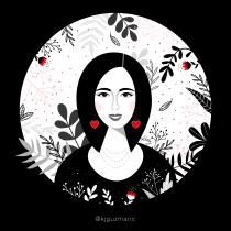 Mi Proyecto del curso: Ilustración vectorial con estilo. A Vector Illustration project by Kelly Chacón - 04.24.2020