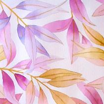 Mi Proyecto del curso: Técnicas de acuarela en negativo para ilustración botánica. Un proyecto de Pintura a la acuarela de RAQUEL SALAMANCA BARRIO - 27.04.2020