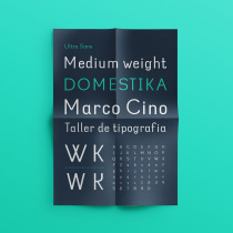 Ultra Sans | Final project. Um projeto de Tipografia e Desenho tipográfico de Marco Cino - 28.04.2020