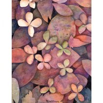 Mi Proyecto del curso: Técnicas de acuarela en negativo para ilustración botánica. Un proyecto de Ilustración, Pintura a la acuarela e Ilustración botánica de Marisol Ormanns - 28.04.2020