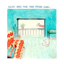Hogar. Um projeto de Ilustração, Comic e Ilustração infantil de Julián David Jiménez Ariza - 29.04.2020