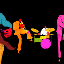 Jazzy Boys. A Drawing project by Lorena Araujo - 04.30.2020