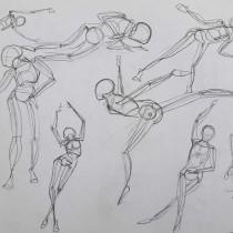 Mi Proyecto del curso: Dibujo anatómico para principiantes. A Design, Illustration, Sketching, Pencil drawing, Drawing, and Realistic drawing project by Raúl Daniel Garduño Perdomo - 05.03.2020