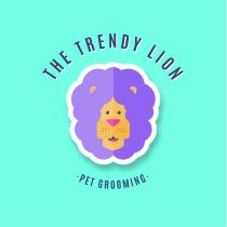 The Trendy Lion. Un projet de Illustration, Br, ing et identité et Illustration vectorielle de Jessica García - 04.05.2020