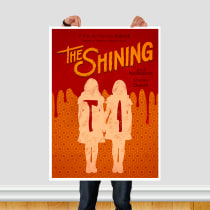 The Shining. A Graphic Design, T, and pograph project by Glauber Rodriguez - 05.04.2020