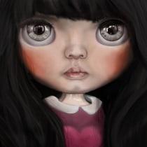 Mi Proyecto del curso: Ilustración digital con Procreate. Un proyecto de Ilustración, Ilustración digital e Ilustración de retrato de Angels Ruiz @anxels_ - 05.05.2020