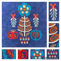 Mi Proyecto del curso: Teoría del color para proyectos textiles. A Embroider project by nataliaiturrieta - 11.02.2019