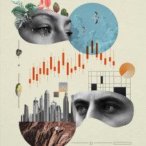 My project in Digital Collage for Editorials course. Un projet de Collage et Illustration numérique de Diego_mographics - 15.04.2020