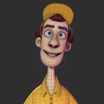 Mi Proyecto del curso: Rigging: articulación facial de un personaje 3D. Um projeto de Rigging e Modelagem 3D de Itzel Martinez Felix - 10.05.2020