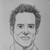 Mi Proyecto del curso: Introducción al retrato con tinta china y plumilla. Un proyecto de Dibujo de Retrato de Esteban YC - 10.05.2020