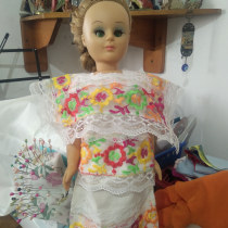 MI PROYECTO: Es hacer ropa típica mexicana en pequeño.. A Costume Design project by Alejandra Adoración Mendoza Rivera - 05.13.2020