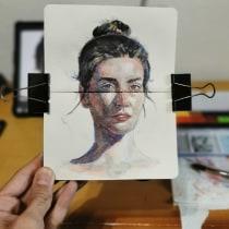 Mi Proyecto del curso: Retrato artístico en acuarela. Un proyecto de Bellas Artes y Pintura a la acuarela de Pedro Fco García Castanedo - 13.05.2020