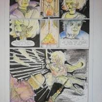 Mi Proyecto del curso: Capturando historias en cómics de fantasía. Un proyecto de Escritura, Cómic, Dibujo a lápiz, Dibujo y Guion de Albert Pradells-Pelayo - 15.05.2020