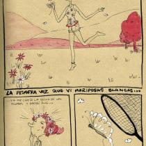 Mi Proyecto del curso: Creación y desarrollo de novelas gráficas. Um projeto de Ilustração e Comic de Arlette Cassot - 19.05.2020