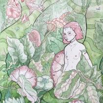 Mi Proyecto del curso: Animalario botánico: acuarela, tinta y grafito. Un proyecto de Ilustración y Pintura a la acuarela de martaalextur - 25.05.2020