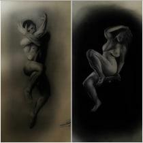 Proyecto de anatomía hombre/mujer . A Anatomische Zeichnung project by Rodrigo Alberto Castañeda Alfaro - 28.05.2020