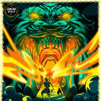 Cueva de las maravillas - Aladdin y Abú. Un projet de Illustration vectorielle de jose3012ac - 24.05.2020