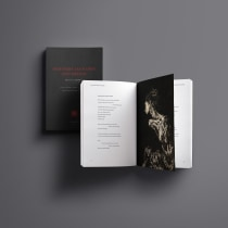 Poemario ilustrado. A Design, Verlagsdesign, Schrift und Buchbinderei project by Brayan Torres - 29.05.2020