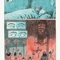 Jonás en tiralíneas y acuarelas!. A Illustration, Comic, Zeichnung und Aquarellmalerei project by Felipe De La Serena - 08.06.2020