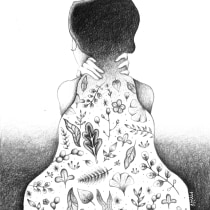 Mi Proyecto del curso: Ilustración y narrativa visual con grafito. A Botanical illustration project by blue_myme - 06.12.2020
