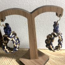 Meu projeto do curso: Introdução à joalheria artesanal. Un proyecto de Tejido de Patricia Laubino Borba Rodegher - 14.06.2020