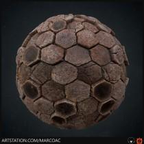 Mi Proyecto del curso: Introducción a la creación de texturas con Substance Designer. A 3D, Set Design, Digital architecture, and Design 3D project by Marco Arauna Camarena - 06.16.2020