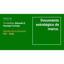 Mi Proyecto del curso: Introducción a la estrategia de marca. Um projeto de Br, ing e Identidade e Marketing de Eduardo Huanqui Cornejo - 16.06.2020