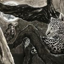 My project in India Ink Illustration with Japanese Influence course. Um projeto de Artes plásticas de Caroline Von Broembsen - 19.06.2020