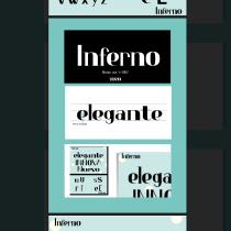 Mi Proyecto del curso: Principios básicos del diseño tipográfico. Um projeto de Tipografia de Valeria Ramirez Riascos - 21.06.2020