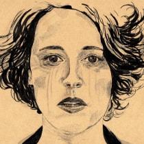 Mi Proyecto del curso: Introducción al retrato con tinta china y plumilla. Un proyecto de Dibujo de Retrato e Ilustración con tinta de Begoña Blázquez Parro - 16.06.2020