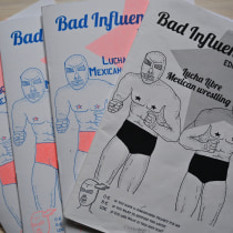 """Mi Proyecto: """"Bad influences"""" Fanzine. A Illustration project by alicia_yay - 22.06.2020"""
