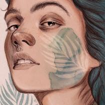 Mi Proyecto del curso: Retrato ilustrado con Procreate. Un progetto di Illustrazione di ritratto , e Disegno digitale di johanaalbarracinr - 24.06.2020