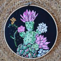 Cactus. Un progetto di Ricamo di carmenalpa - 24.06.2020