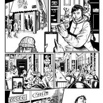 Mi Proyecto del curso: El cómic de superhéroes: narrativa y realización gráfica. A Comic project by Cristián Valverde - 06.25.2020