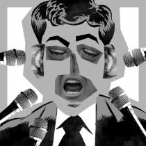 Ilustración Editorial (proyecto del curso): Ventajas de la sinceridad. Um projeto de Ilustração, Design editorial, Design gráfico, Colagem, Criatividade, Desenho, Humor gráfico e Composição Fotográfica de Alberto Peral Alcón - 25.06.2020