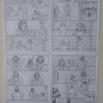 Mi Proyecto del curso: Dibujo a lápiz para cómics de superhéroes. Un proyecto de Dibujo a lápiz de Manuel Alamo Ramírez - 28.06.2020