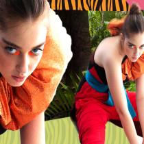 Mi Proyecto del curso: Virtual jungle. A Fashion photograph project by rosa alonso - 07.01.2020