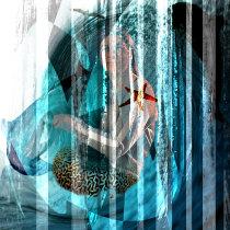 Mi Proyecto del curso: Ilustración artística con técnicas experimentales. Un projet de Beaux Arts de Claudia Cabrera Schmeisser - 05.07.2020