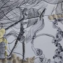Meu projeto do curso: Experimentação gráfica para histórias ilustradas. A Illustration, and Fine Art project by Tiago Bueno - 07.06.2020