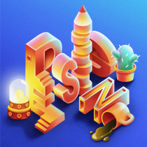 Isometric lettering. A Illustration, and 2D Animation project by snezhanamommsen - 07.06.2020