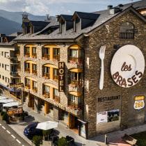 Hotel Les Brases en Sort. A Cooking project by deskri - 07.08.2020