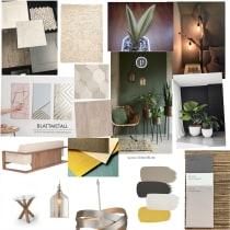 Mi Proyecto del curso: Color aplicado al diseño de interiores. Un proyecto de Diseño de interiores de Taisha Morales Sanchez - 08.07.2020