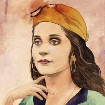 retrato de mi niña: Técnicas de ilustración con acuarela digital. Un projet de Illustration numérique de Jesus Tortosa - 10.07.2020