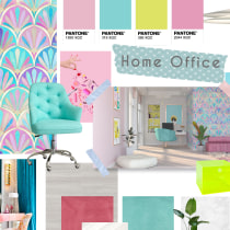 Mi Proyecto del curso: Color aplicado al diseño de interiores. Un progetto di Architettura d'interni, Interior Design, Interior Design, Architettura digitale e Interior Design di Paola Carrera Ramírez - 10.07.2020