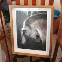 Mi proyecto es Camina libre una copia del original: pastel sobre tabla, una obra de Edith Ruiz, artista mexicana.. Un progetto di Disegno realistico di Elvira Esparza - 11.07.2020