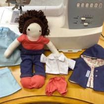 Meu projeto do curso: Confecção de roupa em miniatura. A Crafts, Creativit, Sewing, and DIY project by nakano_1969 - 07.14.2020