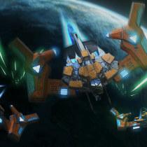 Mi Proyecto del curso: Diseño y modelado de una nave sci-fi en 3D. A Fotografie, Kino, Video und TV, 3-D und Concept Art project by César Daniel Escobar Guzmán - 14.07.2020