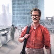Mi Proyecto del curso: Ilustración con acuarela: recrea tus escenas más icónicas. Un proyecto de Ilustración, Dibujo, Pintura a la acuarela, Dibujo de Retrato, Dibujo realista y Dibujo artístico de Carlos Rodríguez Casado - 15.07.2020