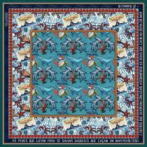 Meu projeto do curso: Ilustração para patterns com alma. A Illustration project by marqueiroz - 07.16.2020