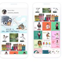 Mi Proyecto del curso: Creación de un porfolio de ilustración en Instagram. Um projeto de Design, Ilustração, Animação, Design de personagens, Artes plásticas, Animação 2D e Ilustração digital de Rocío Mira - 12.07.2020